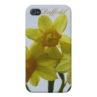 Yellow Daffodil Spring Flower iPhone 4/4S Cases
