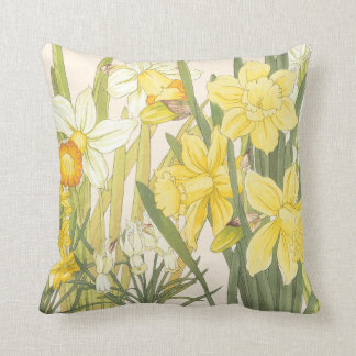 Yellow Daffodills Cushion