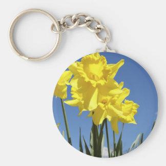 Yellow Daffodils Keychain