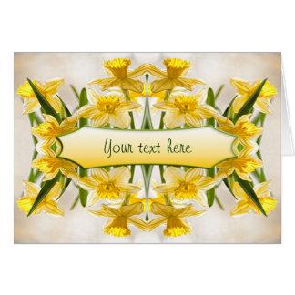 Yellow Daffodils - Thank You Card