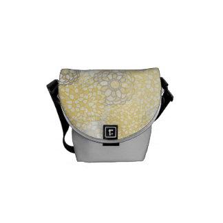 Yellow Dahlia Courier Bag
