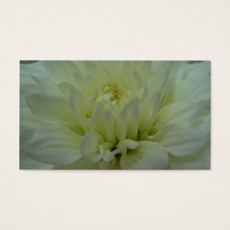 Yellow Dahlia Flower Business Card
