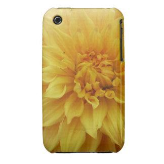 yellow dahlia i-phone 4 Tough Case-mate case