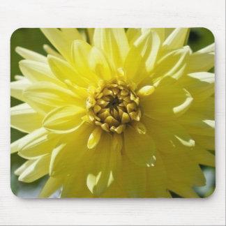 Yellow Dahlia Mousepad