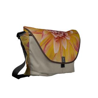 Yellow Dahlia Rickshaw Messenger Bag