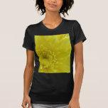 Yellow Dahlia Tee Shirts