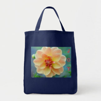 Yellow Dahlia Tote Bag: Joy