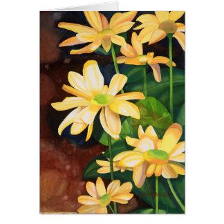 Yellow Daisies Birthday Card