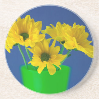 Yellow Daisies Coaster