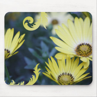 Yellow Daisies Flowers Mousepad