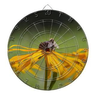 yellow daisies in the garden dart boards