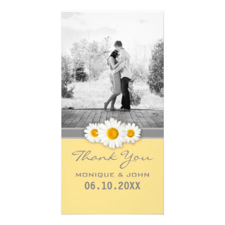 Yellow Daisies Sweet Wedding Thank You Card