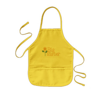 Yellow Daisy Big Sister Apron