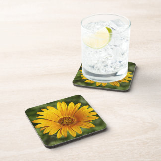 Yellow Daisy Cork Coaster