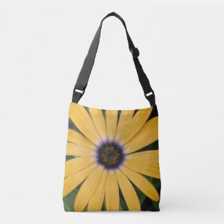 Yellow Daisy Crossbody Bag