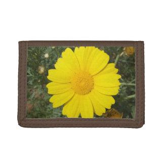 Yellow Daisy custom wallets