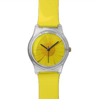 Yellow Daisy custom watches