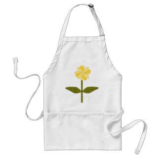 Yellow Daisy Flower Apron