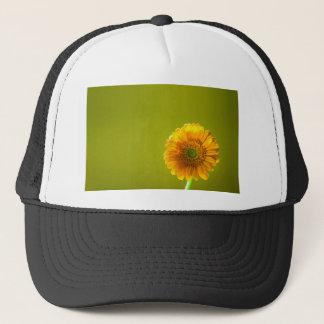 Yellow Daisy Gerbera Flower Trucker Hat