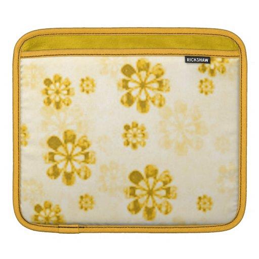 Yellow Daisy Grunge Rickshaw Sleeve Sleeves For iPads