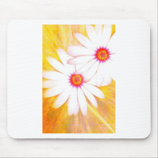 yellow daisy mouse mat