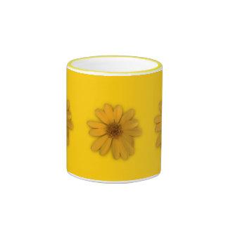 Yellow Daisy Coffee Mugs