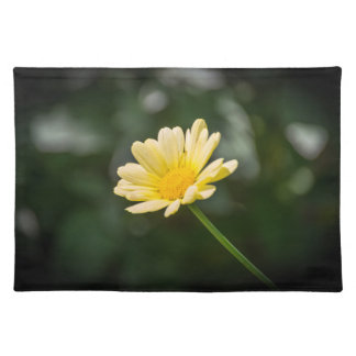 Yellow daisy placemat