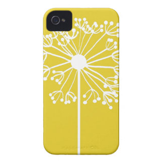 Yellow Dandelion Design iPhone 4 Covers