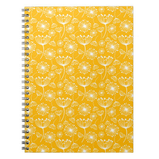 Yellow Dandelion notebook