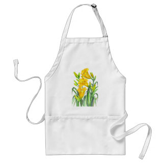 Yellow Day Lillies Standard Apron