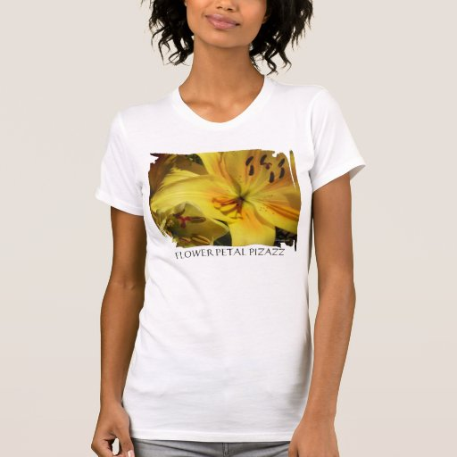 Yellow Day Lily Wedding Flowers T-Shirt T Shirts