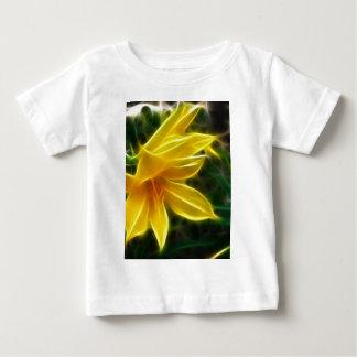 Yellow Daylily 5 Flare T Shirt