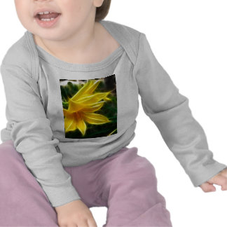 Yellow Daylily 5 Flare T Shirts