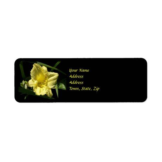 Yellow Daylily Flower