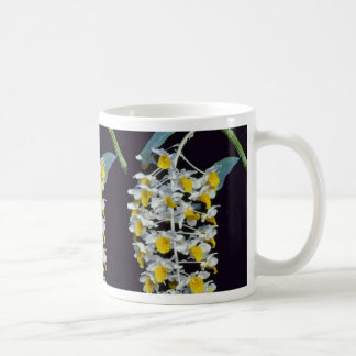 Yellow Densiflorum (Dendrobium) flowers Coffee Mugs