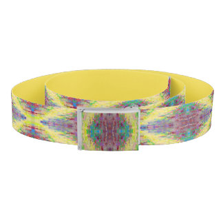 yellow diamond belt