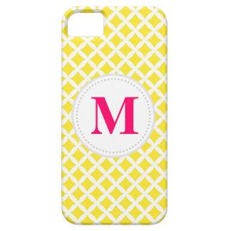 Yellow Diamonds iPhone 5 Cover
