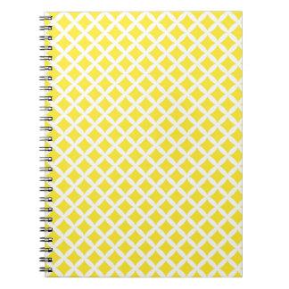 Yellow Diamonds Notebook