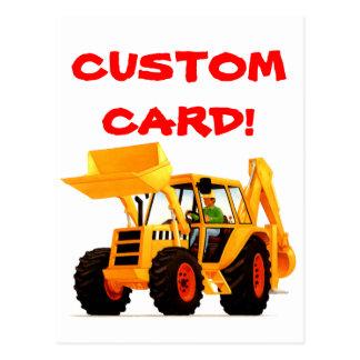 Yellow Digger Postcard