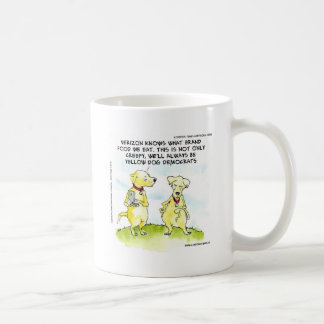 Yellow Dog Democrats Funny Basic White Mug