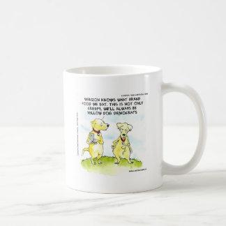 Yellow Dog Democrats Funny Coffee Mug