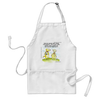 Yellow Dog Democrats Funny Standard Apron