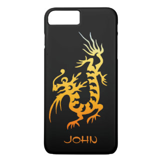 Yellow Dragon iPhone 7 Plus Case