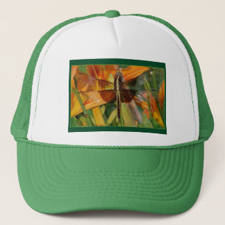 Yellow Dragonfly Hat
