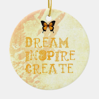 Yellow Dream, Inspire, Christmas Ornament