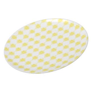 Yellow Dridge Plate