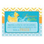 Yellow Duck Diaper Raffle Tickets-Neutral Gender
