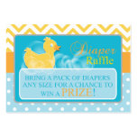 Yellow Duck Diaper Raffle Tickets-Neutral Gender Pack Of Chubby Business Cards