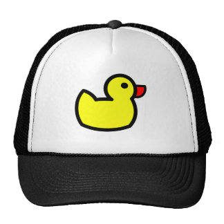 Yellow Duck Drawing Cap
