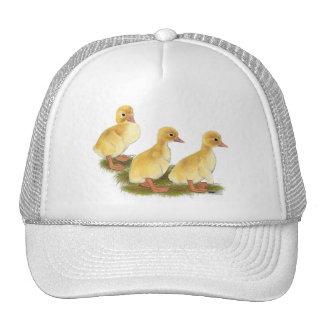 Yellow Ducklings Mesh Hats